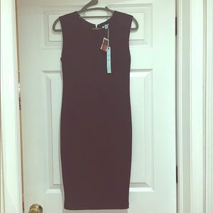 Little black form fitting dress